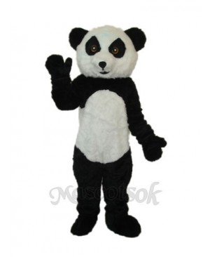 3rd Version Panda Plush Mascot Adult Costume