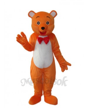 Hello Bear Mascot Adult Costume