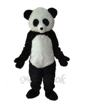 Long Wool giant Panda Mascot Adult Costume