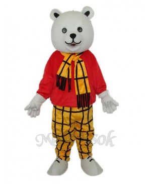 Free Bear Mascot Adult Costume