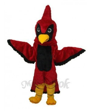 Red Eagle Mascot Adult Costume