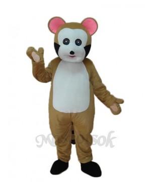 Small Brown Bobcat Mascot Adult Costume
