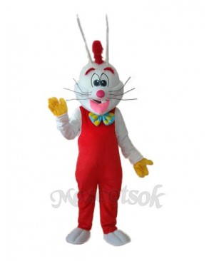 Easter Revision Roger Rabbit Mascot Adult Costume