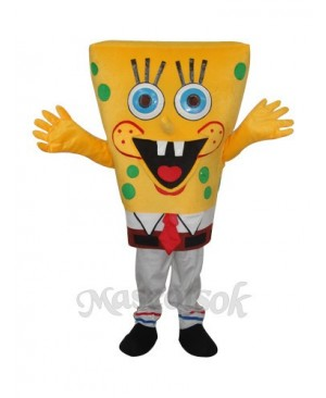 Revised 6th Version SpongeBob Mascot Adult Costume