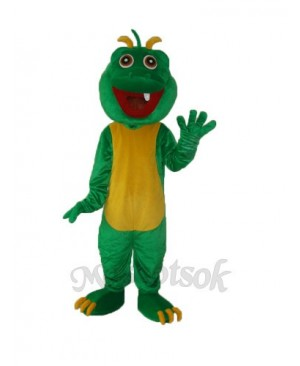 One Tooth Dinosaur Mascot Adult Costume