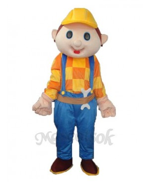 Building Anti-male (with wrench) Mascot Adult Costume