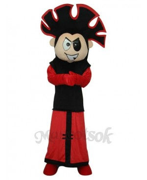 Fire Boy Mascot Adult Costume