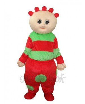 Red Garden Baby Mascot Adult Costume