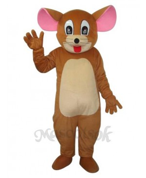 Little Head Jerry Rat Mascot Adult Costume