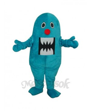Blue Shark Mascot Adult Costume