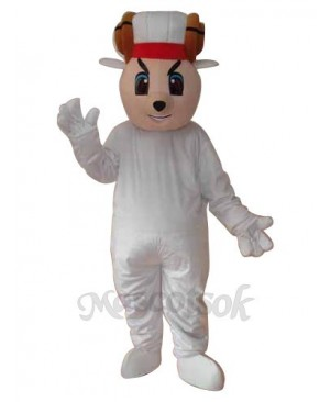 Happy Sheep Mascot Adult Costume