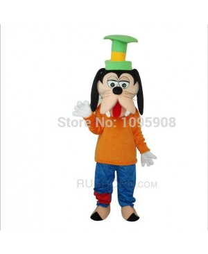 High Quality Goofy Dog Mascot Costume Cute Goofy Mascot Costume Adult Party Carnival Halloween Christmas Mascot Free Shipping