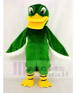 Funny Green Duck Mascot Costume