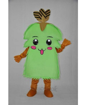 The Christmas tree, the tree elves, elves plush adult mascot costume