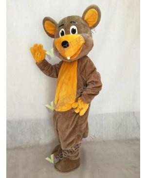 Morley Muskrat Mouse Mascot Costume