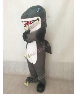 New Grey Shark Mascot Costume