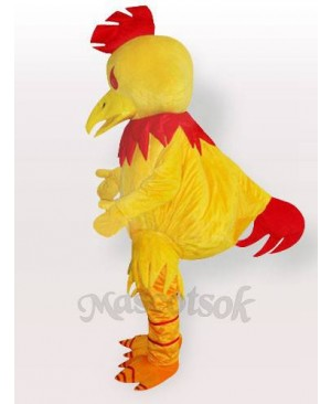 Big Yellow Chanticleer Chicken Adult Mascot Costume