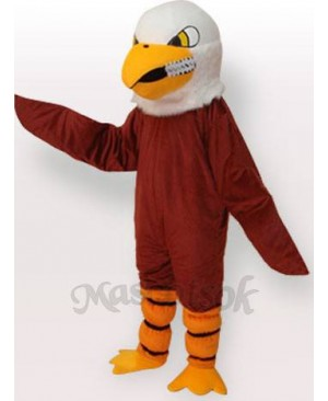 Brown Eagle Short Plush Adult Mascot Funny Costume