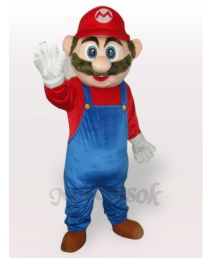 Super Mario Plush Adult Mascot Funny Costume