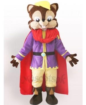Cool Squirrel Plush Adult Mascot Costume