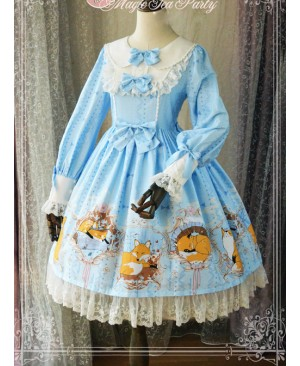 Magic Tea Party Antonio's Four Seasons Series Long Sleeve Classic Lolita Dress