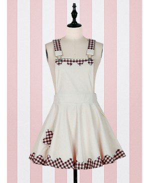 Fashion Lucky Star Lace Lattices Sweet Lolita Cheap Straps Dress