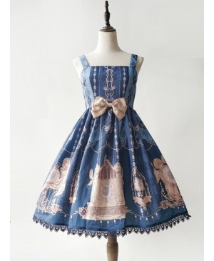 The Heavenly Kingdom's Bell Series Classic Lolita Sling Dress