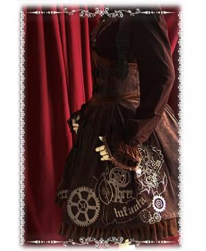 Steampunk Time Underbust Lolita JSK - by Infanta