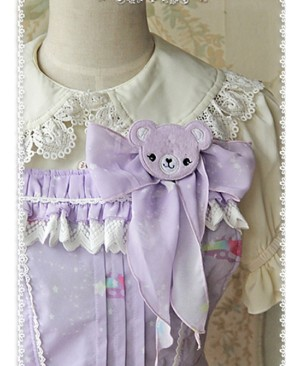 Sleeping Bear Sweet Style Side pockets JSK - by Infanta