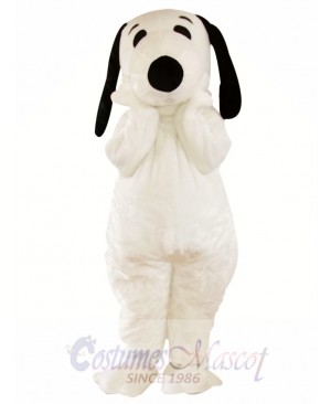 Snoopy Cartoon Mascot Adult Costume