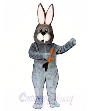 Toothless Rabbit Easter Bunny Mascot Costume