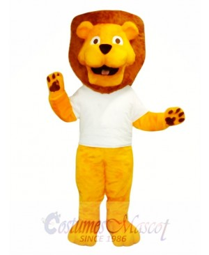 Lovely Lion Mascot Costume