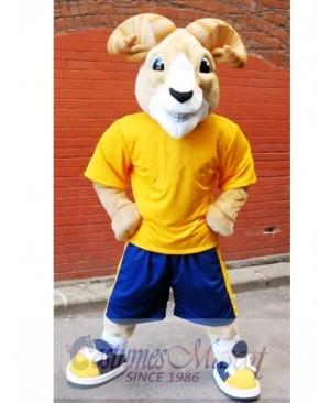 Cute Sport Ram Mascot Costume