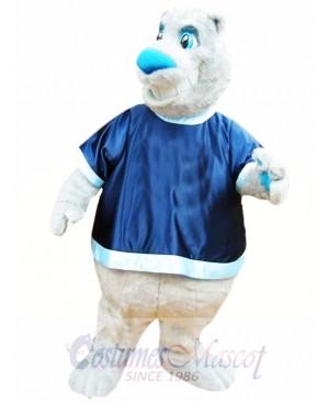 Friendly Bear Mascot Costume