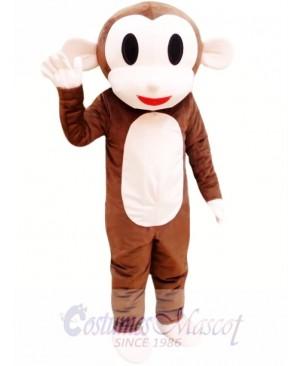 Adult Monkey Mascot Costume