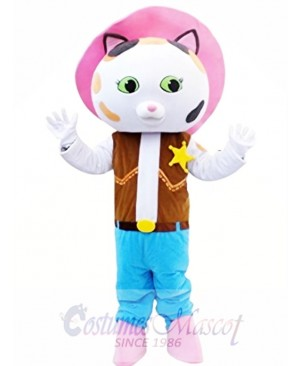Sheriff Callie's Wild West Sheriff Caillie Mascot Costume