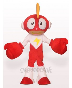 Lighting Doll Plush Adult Mascot Costume