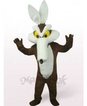 Monster In Brown Clothes Plush Mascot Costume