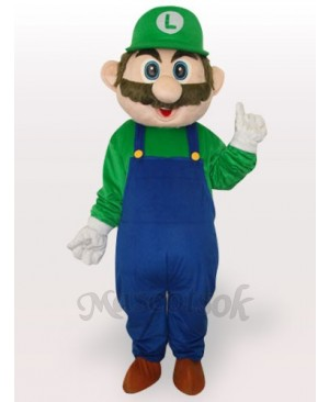 Super Mario Bros Adult Mascot Costume