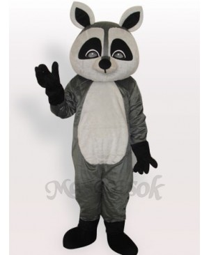 Raccoon Short Plush Adult Mascot Costume