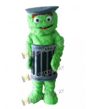 Sesame Street Oscar The Grouch Mascot Costume