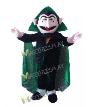 Sesame Street the Count Von Count Mascot Costume