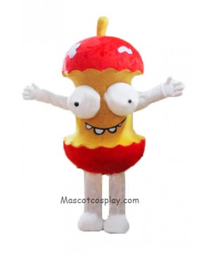 High Quality Rotten Apple Moth Mascot Costume