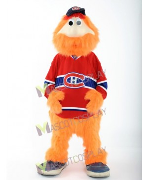 High Quality Montreal Canadians Youppi! Ice Hockey Mascot Costume