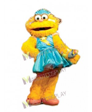 Zoe in Blue Dress from Sesame Street Mascot Costume