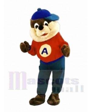 Ace Beaver Mascot Costume
