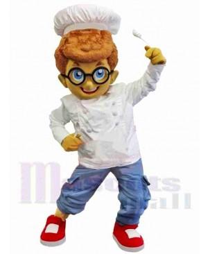 Chef Boy Mascot Costume