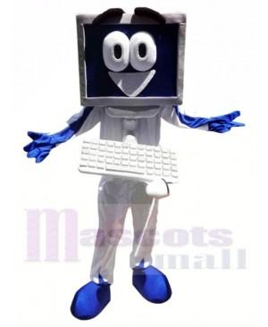 Happy Computer Mascot Costume