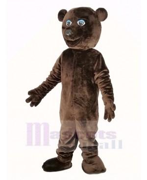 Cool Brown Bear Mascot Costume