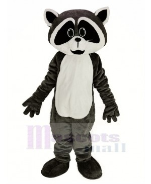 Gray Tan Robbie Raccoon Mascot Costume Animal